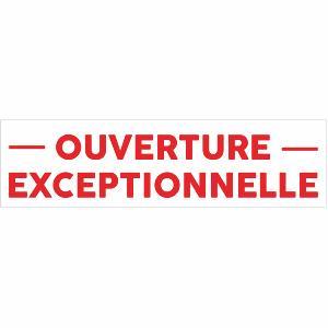 Panneaux banderoles et b ches publicitaires prix direct fabricant - Ouverture exceptionnelle castorama ...